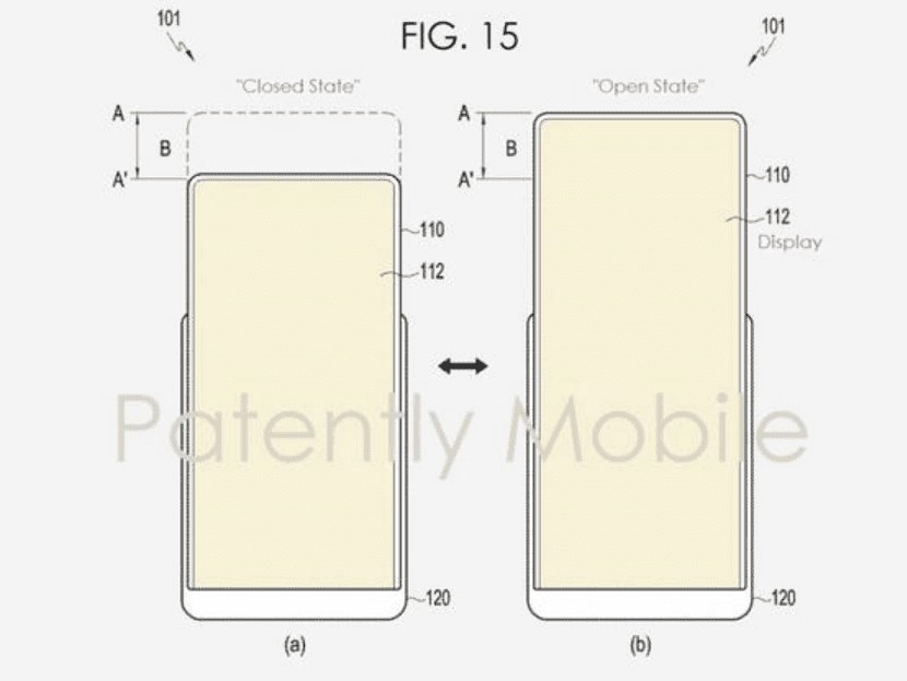 """Samsung's New Patent shows """"Stretchable Display"""""""