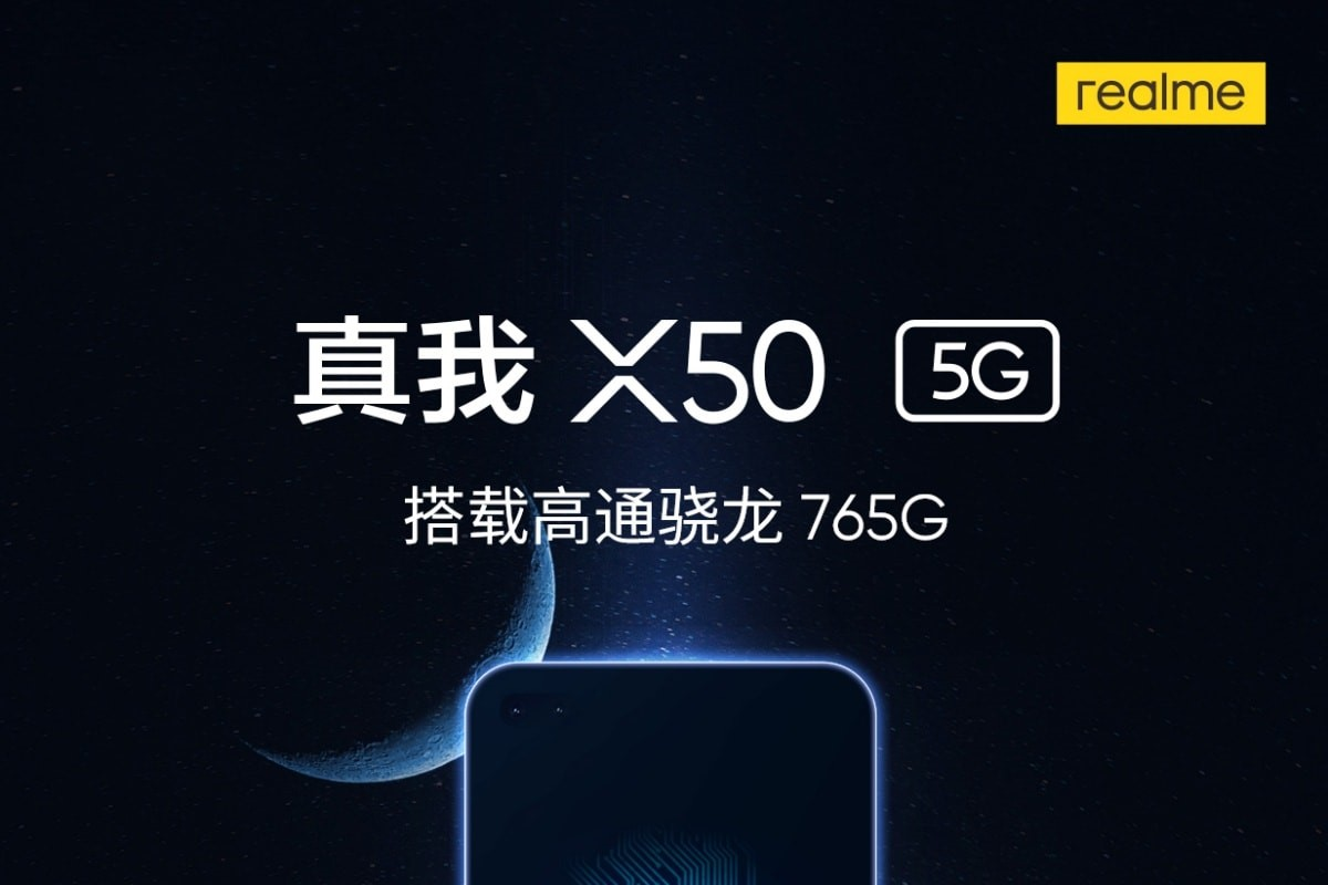 Latest Realme X50 5G Official Poster- Shows off the Front Display