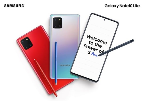Samsung Galaxy S10 Lite and Note 10 Lite Promotional Images Leaked