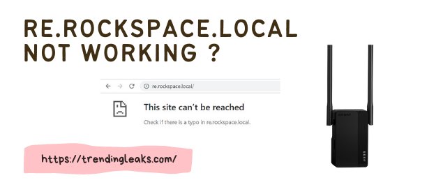 Re.rockspace.local not working ?